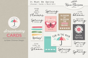 It Must Be Spring Cards