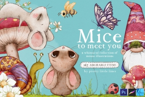 Mice To Meet You – A Marvellous Illustration Collection