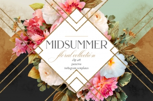 Midsummer Floral Collection