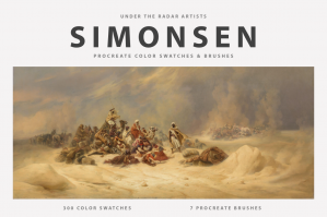 Niels Simonsen's Procreate Brushes & Color Swatches