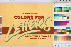 Colors for Letters and Other Things