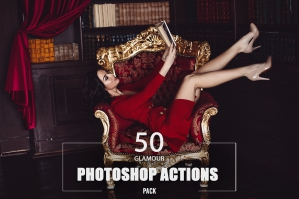 50 Glamour Photoshop Actions