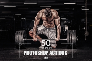50 HDR Sports Photoshop Actions