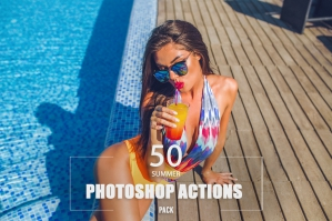 50 Summer Photoshop Actions