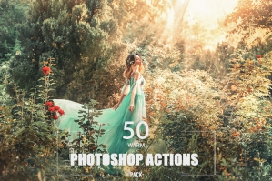 50 Warm Photoshop Actions