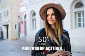 50 Blogger Photoshop Actions