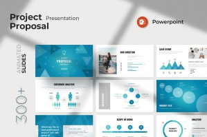 Project Proposal PowerPoint Presentation Template