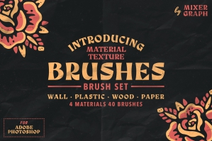 Material Texture Brushes
