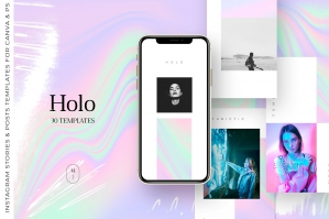 Holo Instagram Template