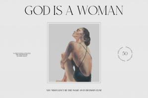 God is a Woman Watercolor Collection