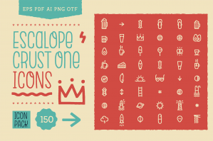 Escalope Crust One Icons