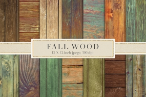 Fall Rustic Wood Backgrounds