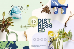 Distressed Vector Backgrounds