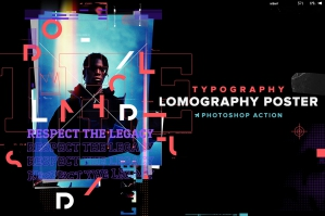 Lomography Typography PS Action