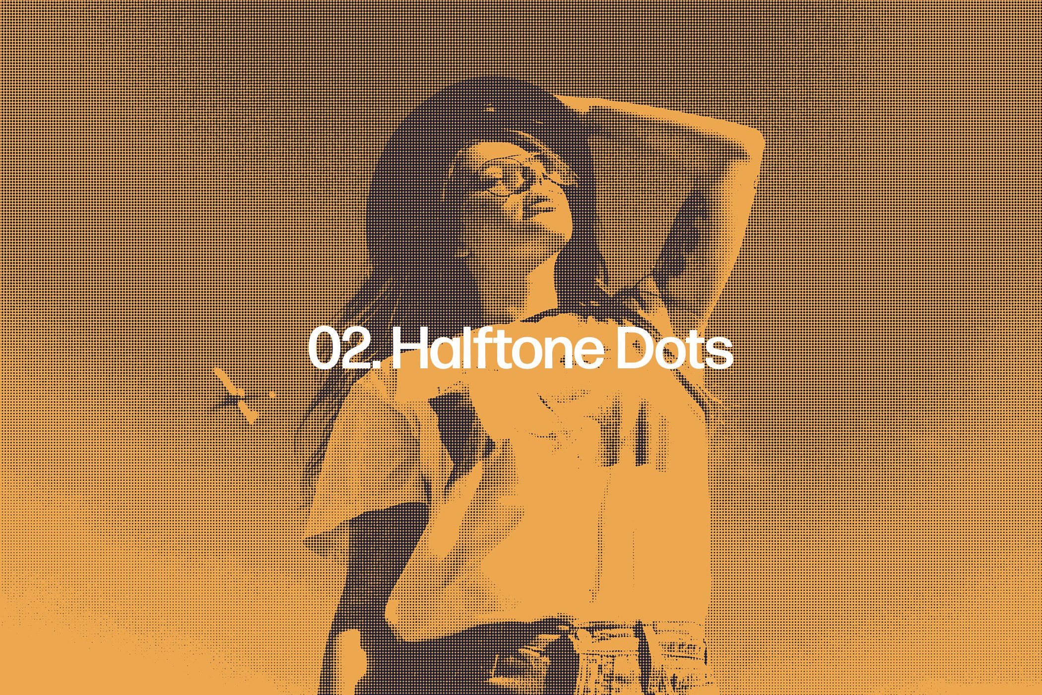 Halftone Effects Collection