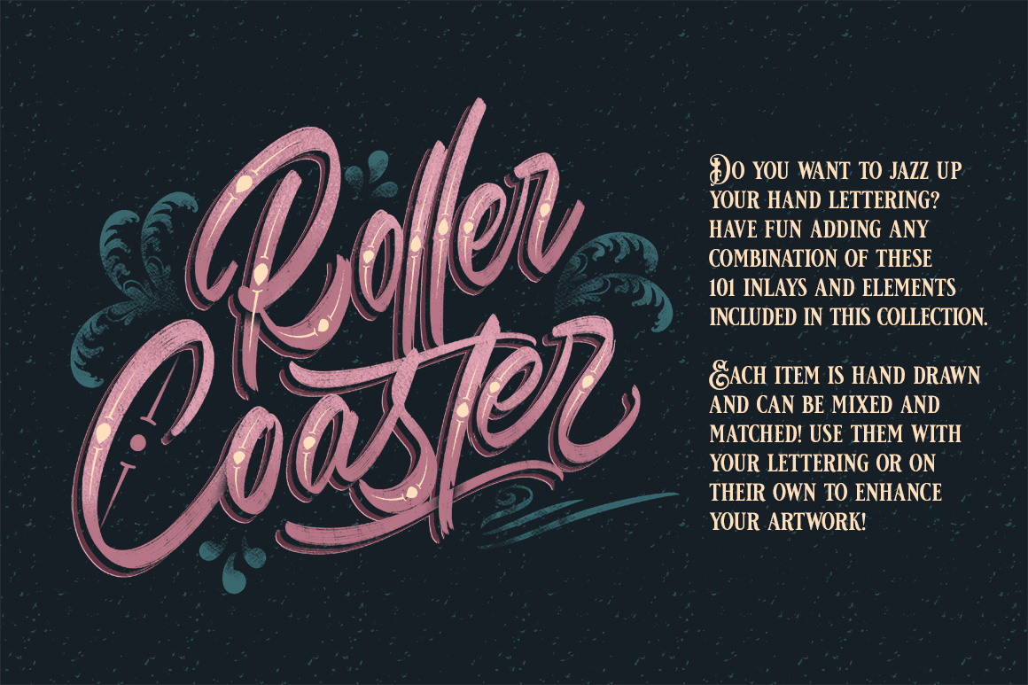 Procreate Lettering Inlay Pack
