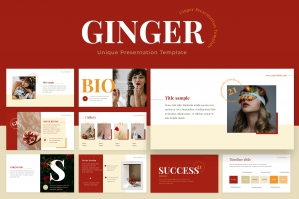 Ginger Powerpoint Template