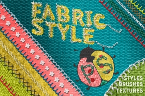 Fabric Styles Stitch Brushes for PS