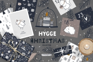 Hygge - Christmas Cards & Patterns