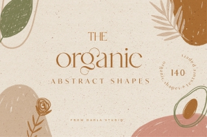 The Organic Abstract Shapes Clipart Set