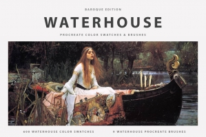 Waterhouse's Procreate Brushes & Color Swatches