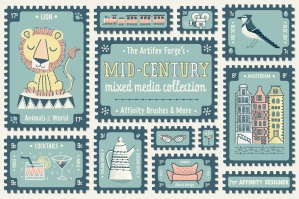 The Mid-Century Mixed Media Collection - Affinity
