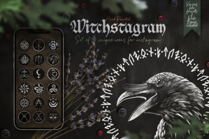 Witchstagram Instagram Cover Icons