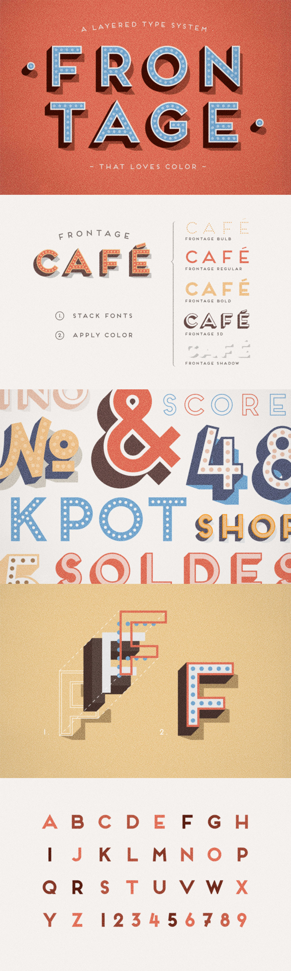 Inspirational Creative Font Collection
