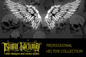 T-Shirt Factory Professional Vector Collection (Extended License)
